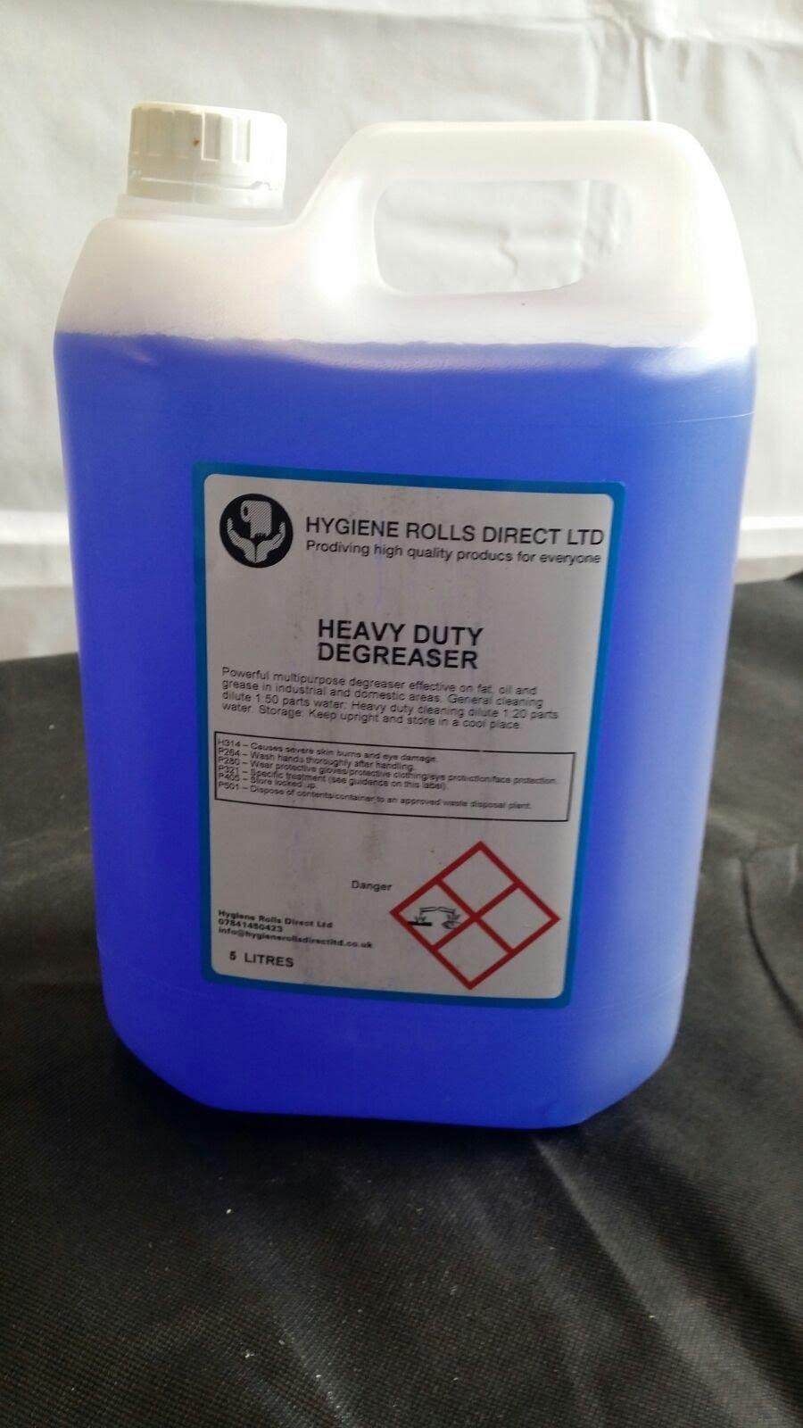 Heavy Duty Degreaser Fat Grease Oil Industrial 5 Litre