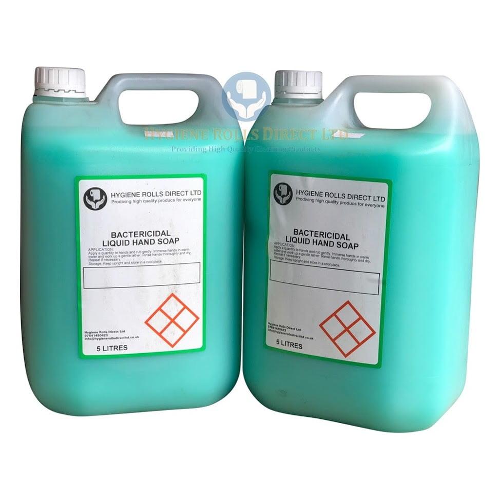 5 Ltr Bacterial Hand Soap Hygiene Rolls Direct