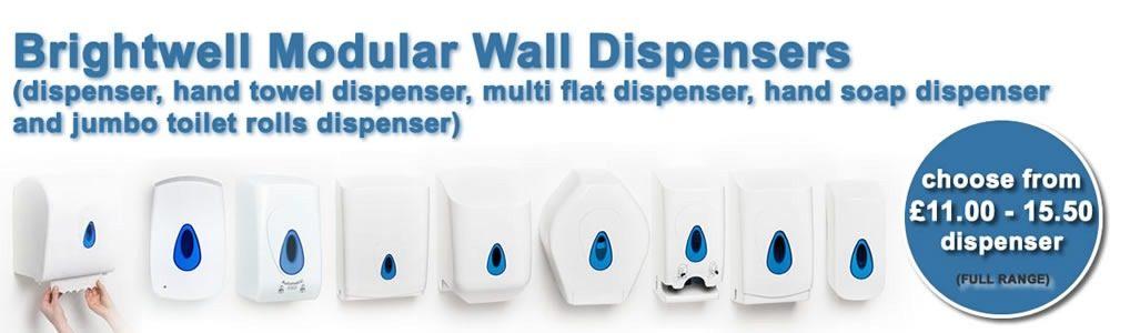 Brightwell Modular Wall Dispensers